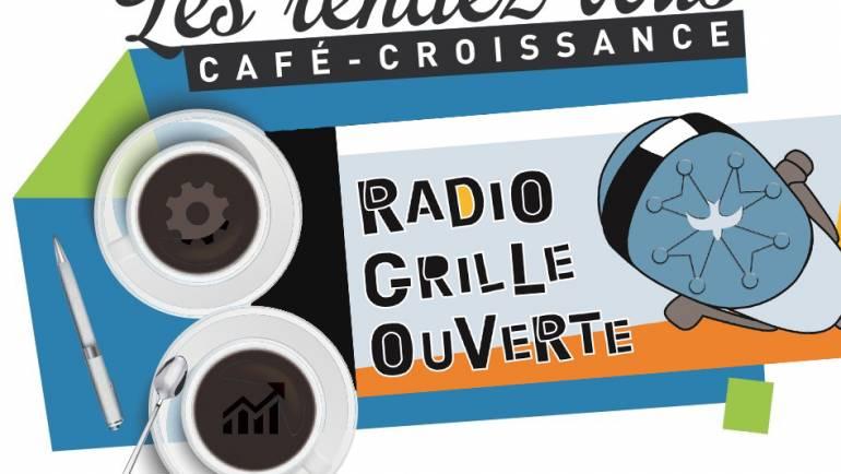 Café-croissance, c'est aussi une chronique radio pour informer, échanger, débattre et mettre en valeur les initiatives