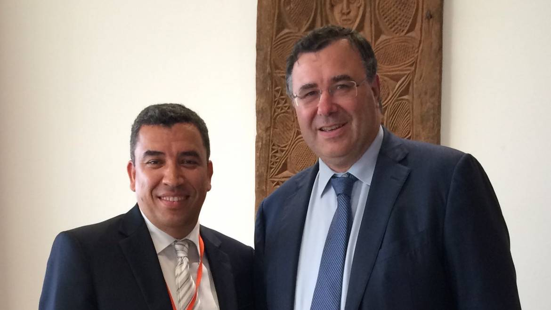 Rencontre avec Patrick Pouyanné, Directeur Général de Total