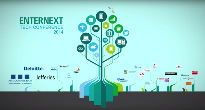 Participation à l'EnterNext Conférence Tech Montpellier [29 septembre 2015]