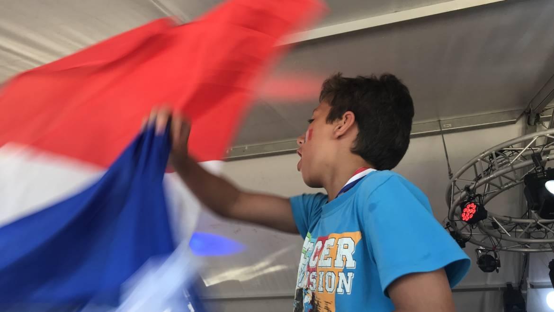 La France est bleue comme l'espoir