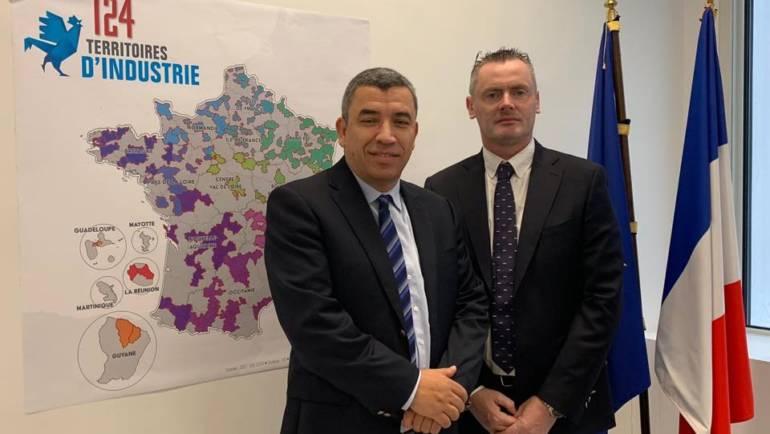Alès Agglomération désigné territoire pilote pour la mise en œuvre de la démarche « Territoires d'industries »